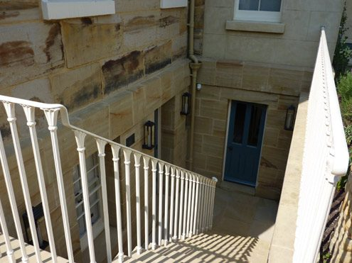 Sussex Sandstone steps